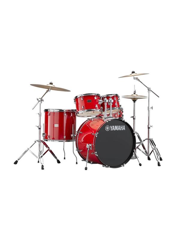 Yamaha RDP2F5 Rydeen Acoustic Drum Kit, Hot Red