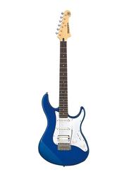 Yamaha PAC012DBM Electric Guitar, Sonokeling Fingerboard, Blue