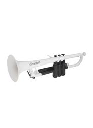 pBone pTrumpet Plastic Trumpet, White