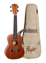 Flight NUC310 Concert Ukulele, Walnut Fingerboard, Brown