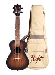 Flight DUC380AMBER Concert Ukulele, Walnut Fingerboard, Brown