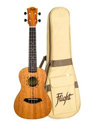 Flight DUC373MAH Concert Ukulele, Walnut Fingerboard, Brown