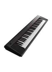 Yamaha NP-12 Portable Keyboard, 8W, Piano Style Keyboard, 61 Keys, Black