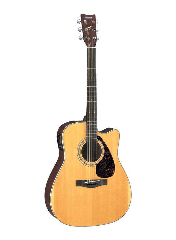 Yamaha FX370C Electro Acoustic Guitar, Rosewood Fingerboard, Beige