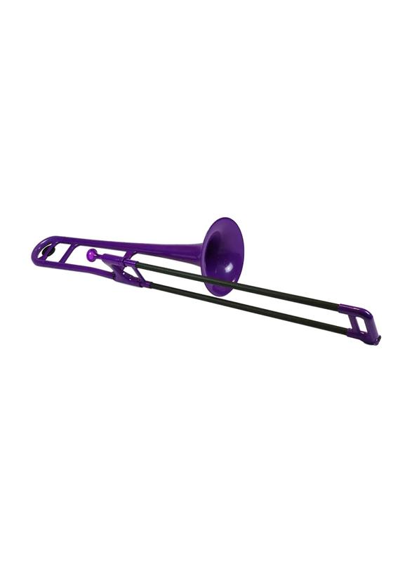 pBone Plastic Trombone, Ergonomic Design, Purple