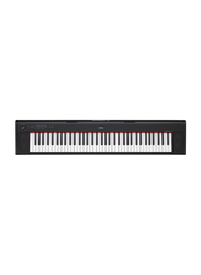 Yamaha NP-32 Portable Keyboard, 18W, Piano Style Keyboard with Graded Soft Touch, 76 Keys, Black