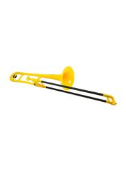 pBone Plastic Trombone, Ergonomic Design, Yellow