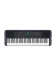 Yamaha PSR-E273 Portable Keyboard, 61 Keys, Black