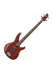 Yamaha TRBX174EW Electric Bass Guitar, Rosewood Fingerboard, Root Bear Brown