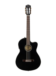 Fender CN140SCE Electric Guitar, Walnut Fingerboard, Black