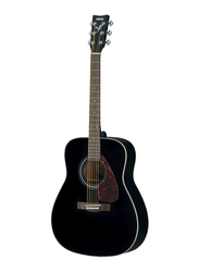 Yamaha F370BLK Acoustic Guitar, Rosewood Fingerboard, Black