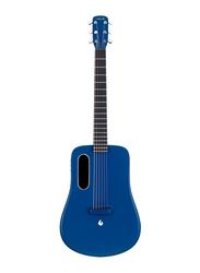 Lava Music ME 2 Freeboost Semi Acoustic Guitar, HPL Fingerboard, Blue
