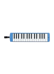 Yamaha P32D Pianica Keyboard Wind Instrument, 32 Key, Blue
