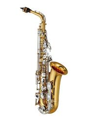Yamaha YAS-26 Standard Eb Alto Saxophone, Nickel Plated Keys, Gold Lacquer Finish