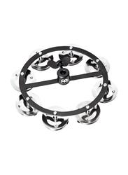 Meinl Cymbals HTHH1BK Mountable Hi Hat Tambourine with Steel Jingles, Black