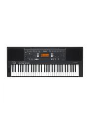 Yamaha PSR-A350 Portable Keyboard, 61 Keys, 613 Voices, 210 Styles, Black