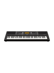 Yamaha PSR-E363 Portable Keyboard Touch-Responsive, 61 Keys, USB to Host, Aux-In Terminal, Black