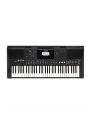 Yamaha PSR-E463 Portable Keyboard, 61 Keys, 758 Voices, Black