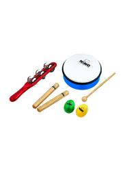 Nino NINNOSET3 Assortment Percussion Set, Multicolor