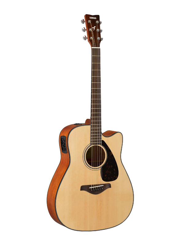 Yamaha FGX800C Electro Acoustic Guitar, Rosewood Fingerboard, Natural