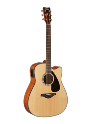 Yamaha FGX800C Electro Acoustic Guitar, Rosewood Fingerboard, Natural