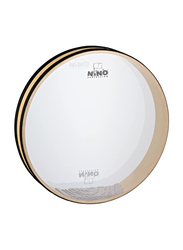 "Nino NINO30 14"" Sea Drum, Soothing Sounds, Clear Synthetic Head, Black"