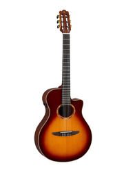 Yamaha NTX3 Acoustic Electric Guitar, Ebony Fingerboard, Brown Sunburst