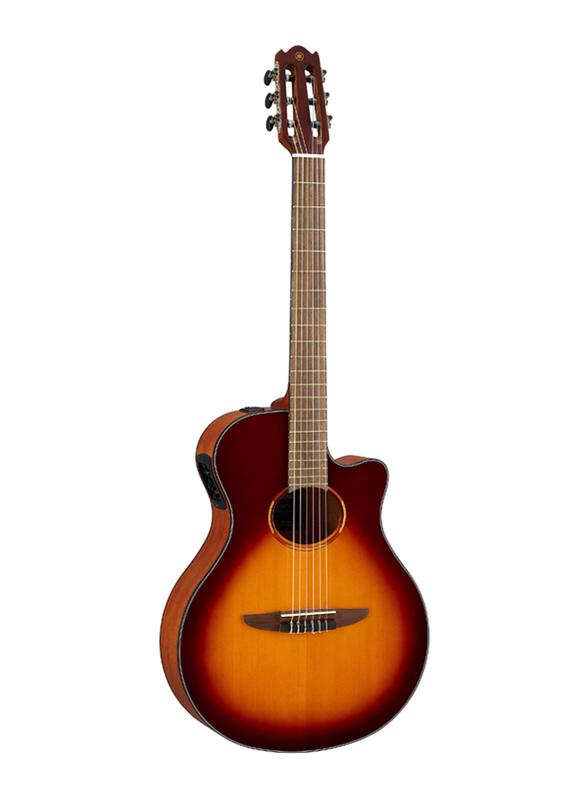 Yamaha NTX1 Acoustic Electric Guitar, Walnut Fingerboard, Brown Sunburst