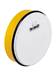 "Nino NINO45Y 8"" Plastic Hand Drum, Synthetic Head, Yellow"