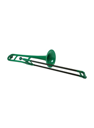 pBone Plastic Trombone, Ergonomic Design, Green