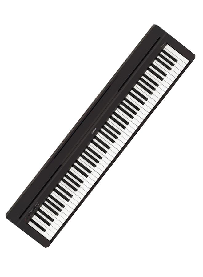 Yamaha P45B Digital Piano with GHS 88 Keys, Slim Keyboard, Black