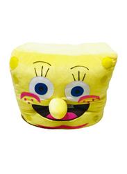 Sponge Bob Square Costume Big One, 10+ Years, Yellow