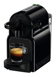 Nespresso Inissia Coffee Machine with Aeroccino 3 Milk Frother, 1260W, D40BU-BK, Black