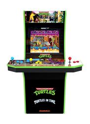 Arcade 1Up 2-in-1 Teenage Mutant Ninja Turtles Arcade Cabinet Machine, 7633, Black, All Ages