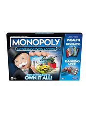 Hasbro Monopoly Ultimate Rewards Electronic Banking Unit Board Game