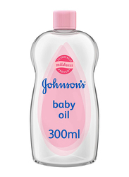 Johnson's Baby 300ml Moisturizing Baby Oil for Babies, Clear