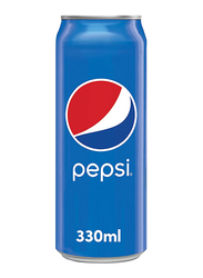 Pepsi Soft Drink Can, 330ml