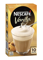 Nescafe Gold Vanilla Latte Coffee, 10 Sachets x 18.5g