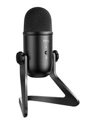 FIFINE K678 USB Podcast Microphone, Black