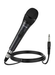 FIFINE K6 Dynamic Handheld Microphone, Black