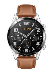 Huawei GT 2 Classic Edition 42mm Smartwatch, Brown