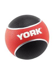 York Fitness Anti-Burst Fitness Ball, 6KG, Black/Red