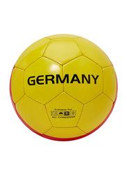 Joerex Size-5 Germany Flag Printed Football, Black/Yellow/Red