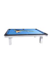 Milano 8-Feet Billiard Table, Multicolour