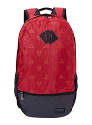 Peak B141260 Nylon Backpack Bag, Rust Red
