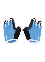 LiveUp Training Gloves, Large/Extra Large, Black/Blue