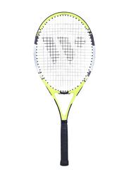 Wish Fusion Tec Tennis Racket, 47070083, White/Green/Black