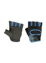 LiveUp Training Gloves, Large, Black