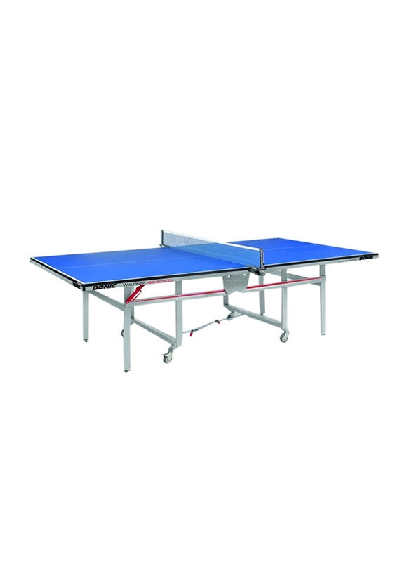 Donic Waldner High School Table Tennis Table, 400215 Bl/AMM, Blue