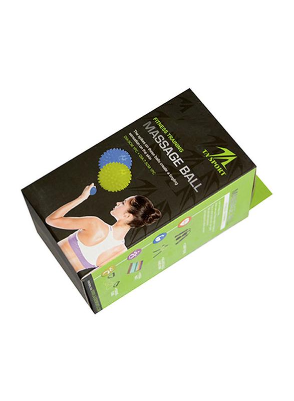 TA Sport Massage Ball, Blue
